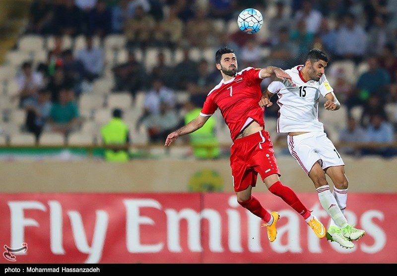 Iran Held by Syria at 2018 World Cup Qualifier