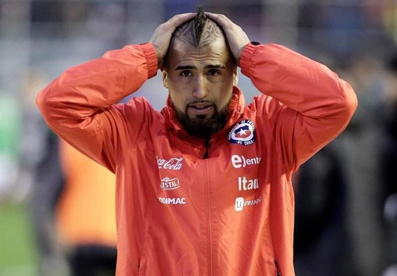 ویدال به بازی در تیم ملی شیلی ادامه میدهد