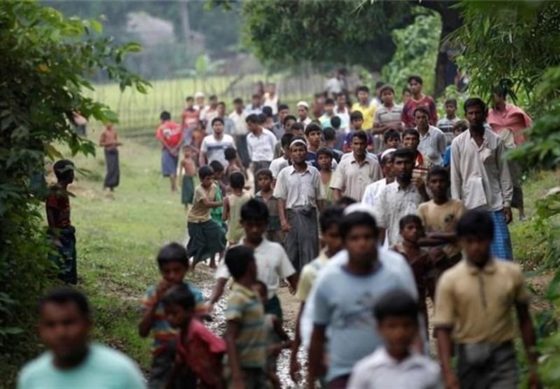 عملیات وحشیانه ارتش میانمار با هدف جلوگیری از بازگشت مسلمانان روهینگیاست