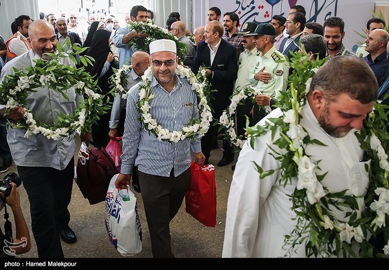 عودة أکثر من 5 آلاف حاج إیرانی إلى البلاد عبر الخطوط الجویة الایرانیة