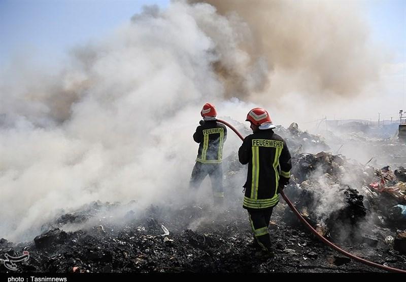 90 درصد حریق در منطقه طارم استان قزوین مهار شد