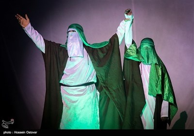 عید غدیر کی مناسبت سے بوشہر میں شبیہ سازی