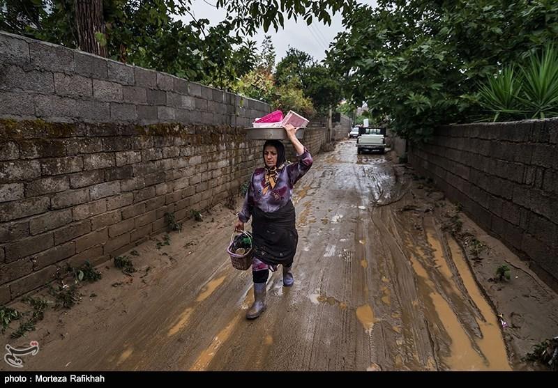 Flash Flooding Hits Northern Iran