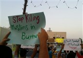 Bahrainis Stage Rallies in Solidarity with Myanmar Muslims (+Photos)