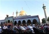 مراسم جشن پیروزی انقلاب در حرم حضرت زینب(س) +فیلم