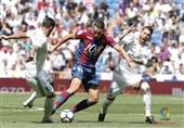 رئال مادرید در خانه از پس لوانته بر نیامد/ بنزما مصدوم شد، مارسلو اخراج!