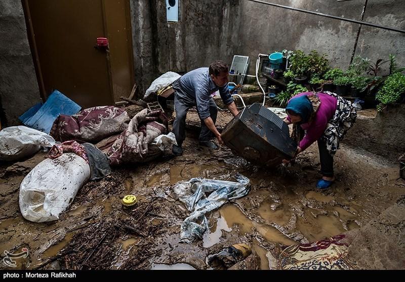 طغیان رودخانه 65 میلیارد ریال خسارت به شهرستان املش وارد کرد