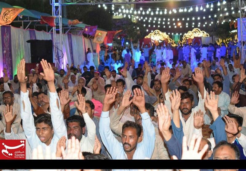 کراچی میں عید غدیر کی محفل اور مشاعرہ + تصاویر