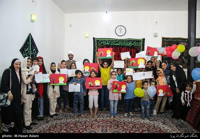 برگزاری جشن عید غدیر و کارگاه آموزشی در روستای محمدآباد ورامین