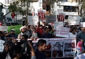 تجمع دانشجویان مقابل دفتر سازمان ملل در تهران آغاز شد + تصاویر