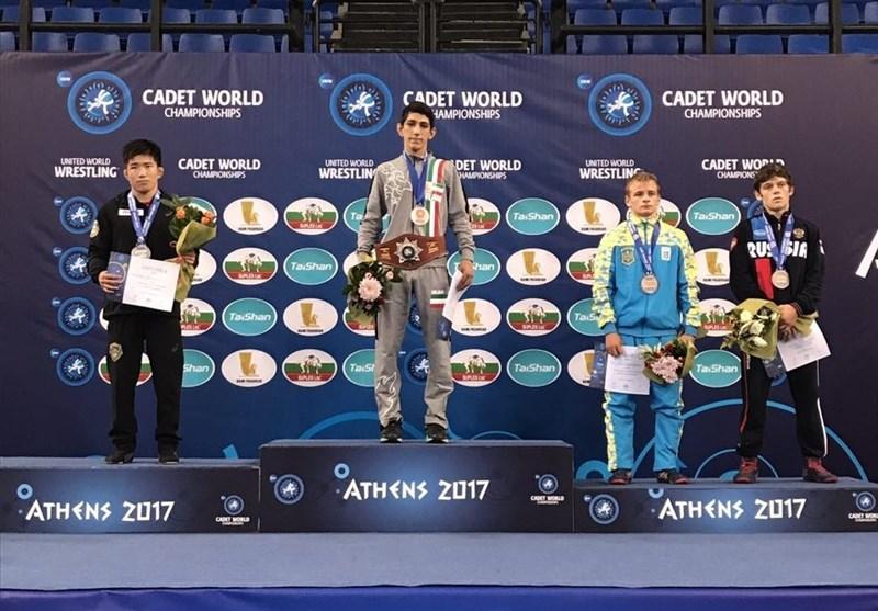 Iran's Eshghi Wins Gold at UWW Cadet World Championships