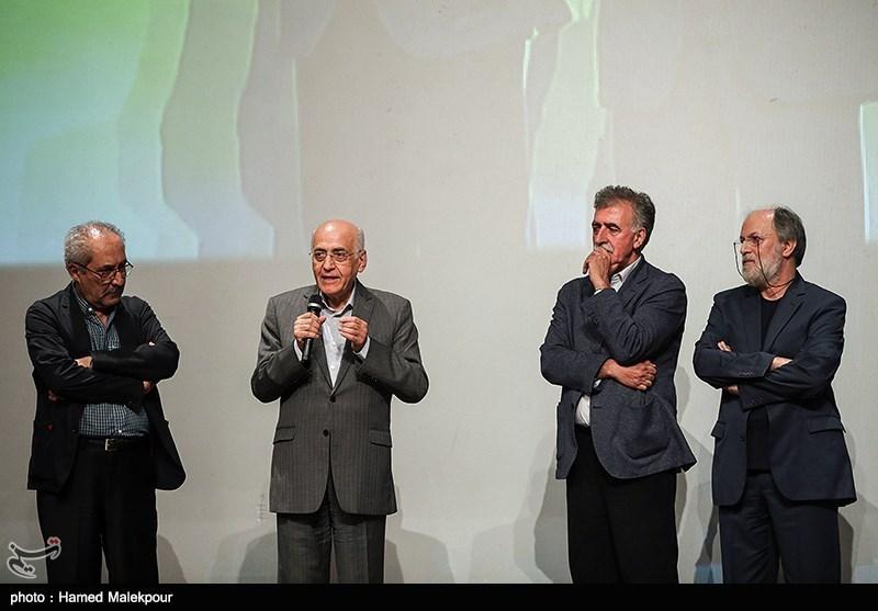 امین تارخ، همایون اسعدیان، محمد سریر و ابراهیم حقیقی در آیین نکوداشتهای نوزدهمین جشن سینمای ایران