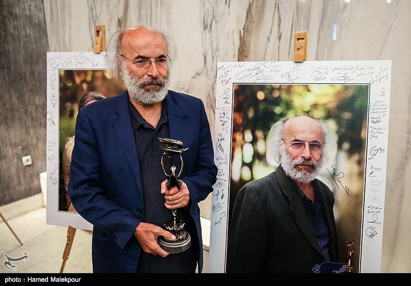 کیانوش عیاری در آیین نکوداشتهای نوزدهمین جشن سینمای ایران