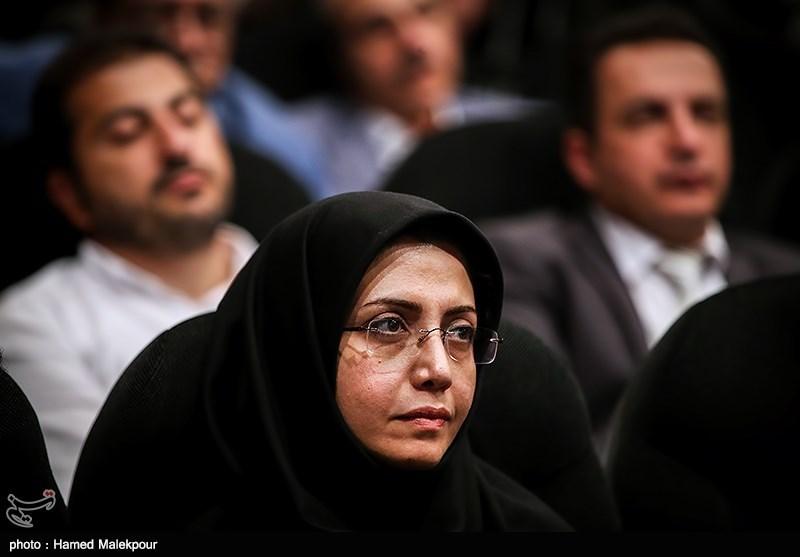 الهام فخاری عضو شورای شهر تهران در آیین نکوداشتهای نوزدهمین جشن سینمای ایران