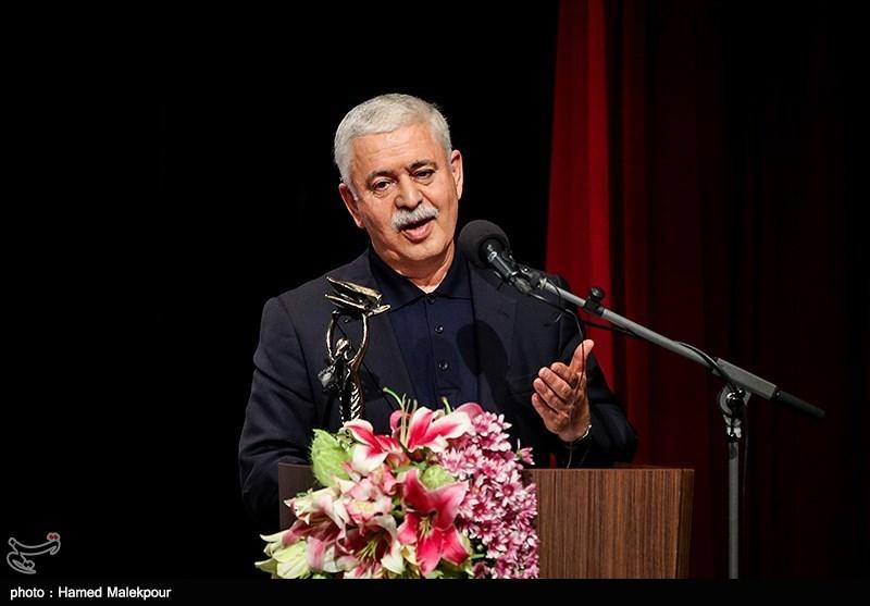 نکوداشت محمدحسن خوشنویس در نوزدهمین جشن سینمای ایران