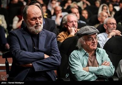 فریدون جیرانی و امین تارخ در آیین نکوداشتهای نوزدهمین جشن سینمای ایران