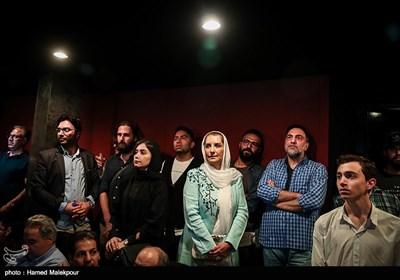 حسن فتحی و فریبا کوثری در آیین نکوداشتهای نوزدهمین جشن سینمای ایران