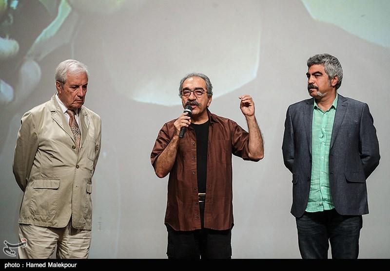 سروش صحت و تورج منصوری در آیین نکوداشتهای نوزدهمین جشن سینمای ایران