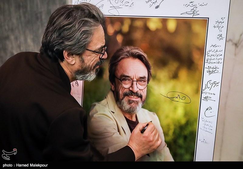 حسین علیزاده در آیین نکوداشتهای نوزدهمین جشن سینمای ایران
