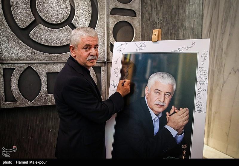 محمدحسن خوشنویس در آیین نکوداشتهای نوزدهمین جشن سینمای ایران