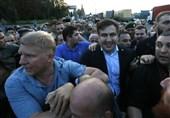 ساکاشویلی وارد خاک اوکراین شد