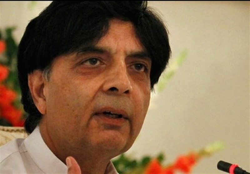 """آرمی چیف دنیا سے """"ڈو مور"""" چاہتے ہیں اور وزراء پاکستان سے، چوہدری نثار"""