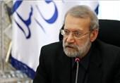 """لاریجانی: دیداری با رهبری درباره """"FATF"""" نداشتیم"""