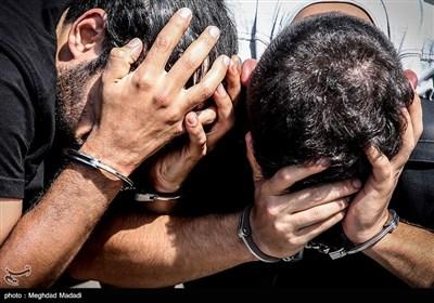 دستگیری سارقان و مالخران