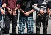 سارقان عابربانکهای تهران دستگیر شدند