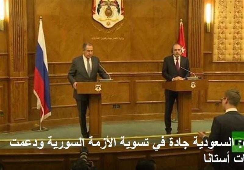 لاوروف و وزیرخارجه اردن