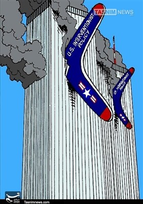 کاریکاتور/ بومرنگ 11 سپتامبر !!!