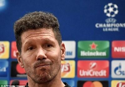 سیمئونه: وقتی میهمانی میروم از تمام امکانات استفاده میکنم/ در حال حاضر رئال مادرید بهتر از بارسلوناست