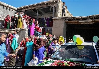 مراسم عروسی سنتی در روستای پرسه سو سفلی خراسان شمالی