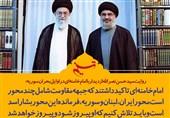 فتوتیتر/ روایت سیدحسن نصرالله از دیدار با امام خامنهای در اوایل بحران سوریه