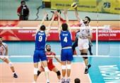 برتری ایران مقابل ایتالیا در گام نخست + تصاویر