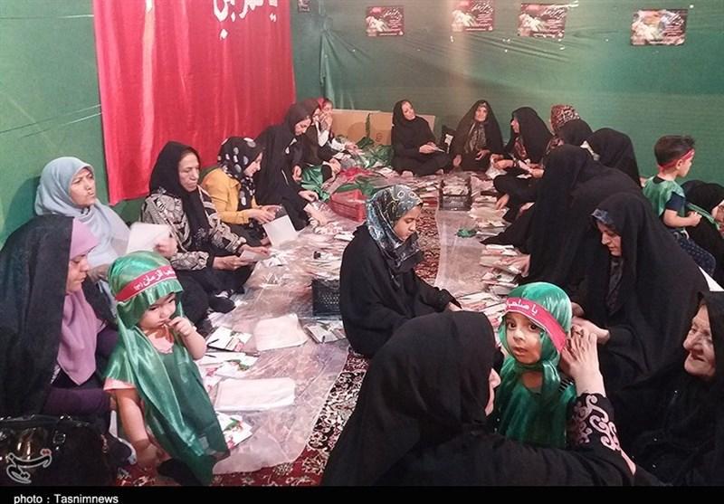 آغاز بستهبندی لباس همایش عظیم شیرخوارگان حسینی در استان فارس+ تصاویر