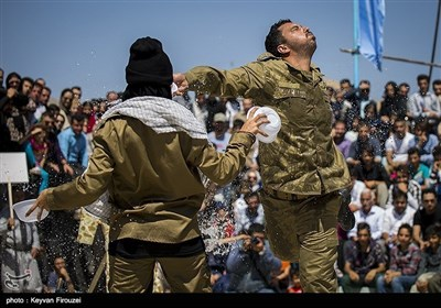 ایران؛ 12ہواں بین الاقوامی اسٹریٹ تھیٹر میلہ اختتام پذیر