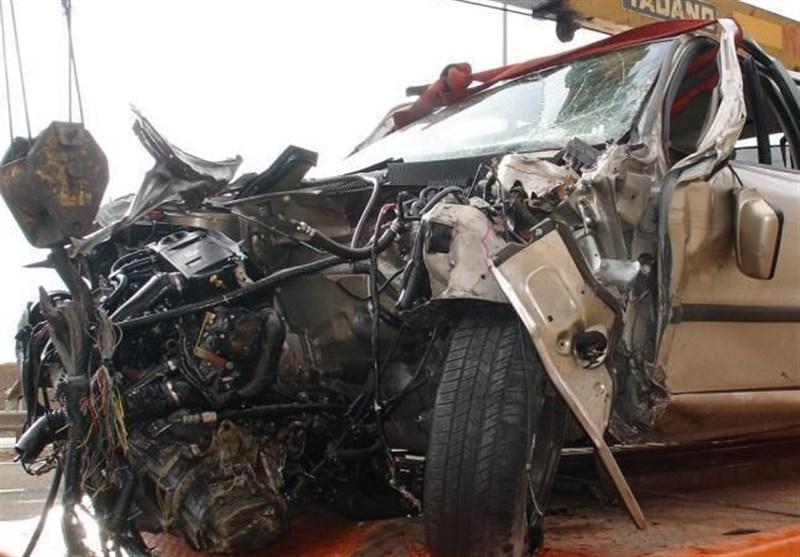 تصادف خونین در محور کرج ـ چالوس؛ 11 نفر مصدوم شدند