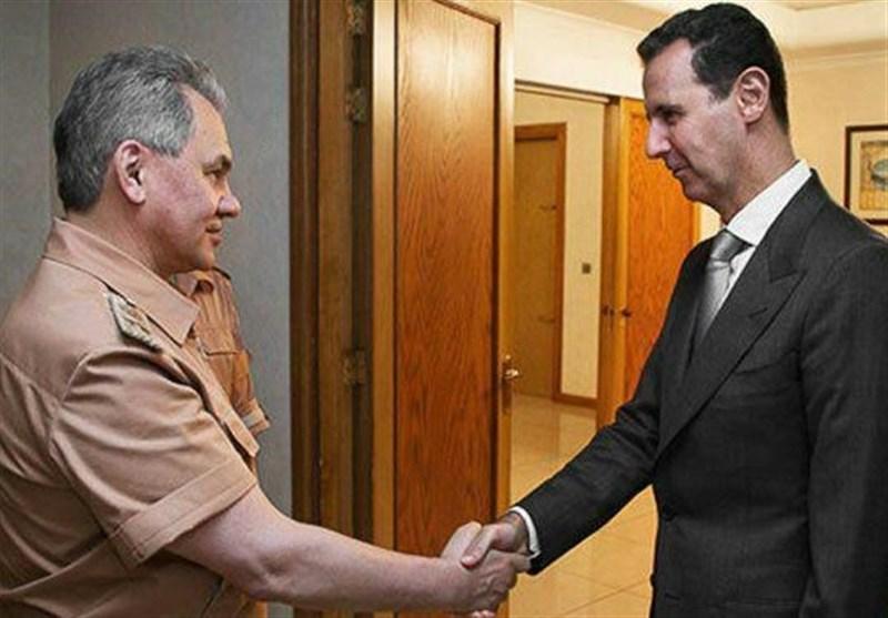 بشار اسد و سرگئی