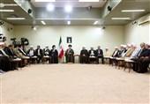 رئیس و اعضای دوره جدید مجمع تشخیص با امام خامنهای دیدار کردند