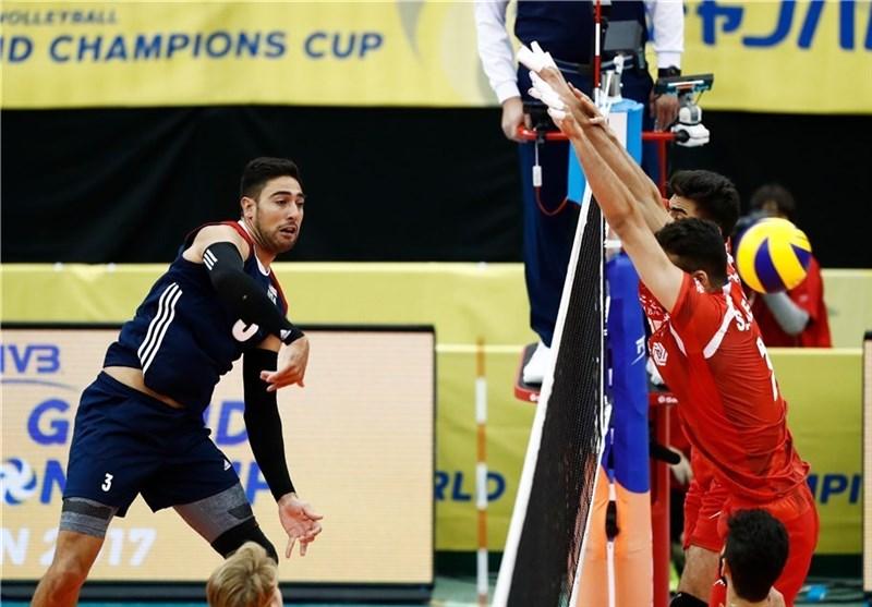 دیدار دوستانه والیبال|تیم ایران مغلوب آمریکا شد/ شاگردان کواچ بر کانادا غلبه کردند