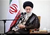جمعی از فرماندهان بسیج و بسیجیان با امام خامنهای دیدار کردند