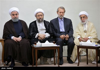 New Members of Iran's Expediency Council Meet Leader