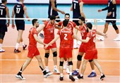 تیم والیبال ایران حریفان خود را شناخت + عکس