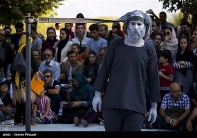 اختتامیه دوازدهمین جشنواره بینالمللی تئاتر خیابانی مریوان