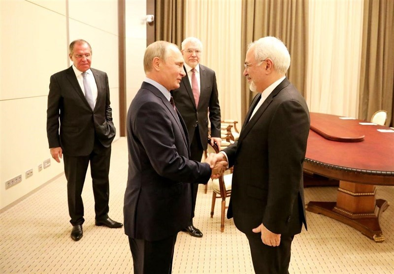 Iran's FM Hails 'Positive' Talks with Putin