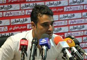 غیبت نظرمحمدی در نشست خبری دیدار سایپا - سپیدرود