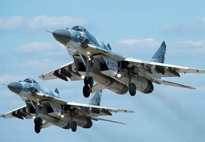 سقوط جنگنده روسی در سوریه