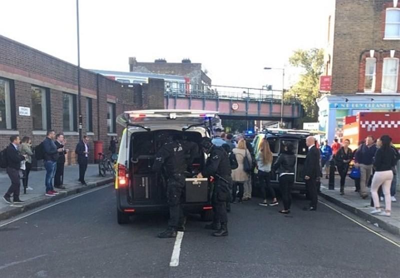 لندن کے انڈرگراونڈ ریلوے اسٹیشن میں دھماکہ، متعدد افراد زخمی + تصاویر