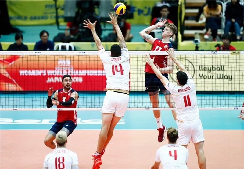 رقابت های والیبال اروپا 2016 آمریکا به دومین پیروزی خود دست یافت + تصاویر